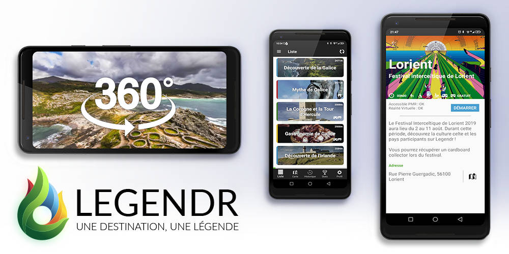 Legendr, l'application officielle du Festival Interceltique de Lorient