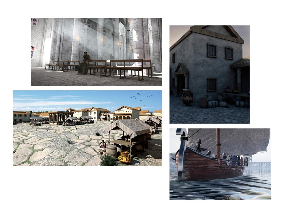 reconstitutions historiques en images de synthèse